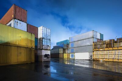 40 High Cube Shipping Container - Seattle Wa
