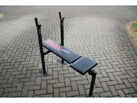 York weights bench / home gym exercise bench