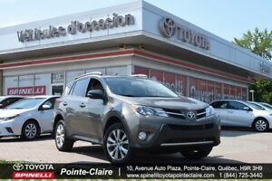 2014 Toyota RAV4 LIMITED + GPS MAGS  ROOF LEATHER!!!!!!!!!!!!!