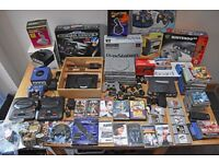 Bundle of Retro Consoles, Accessories and Games