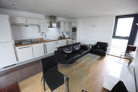 LUXURY 2 BED 2 BATH NEW BUILD AVAILABLE FOR SHORT LET 10 MINS TO CANARY WHARF WITH BALCONY