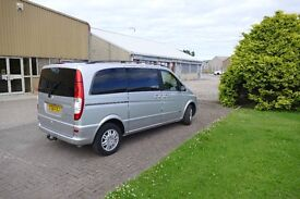 06 Mercedes Benz Viano Trend 2.2CDi tiptronic semi auto diesel 12 months MOT will pass any test