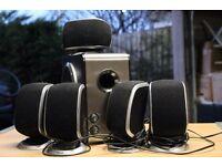 5.1 surround sound speaker set