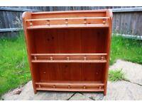 Solid pine kitchen unit / shelves
