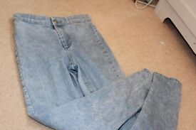 Topshop joni jeans size 6