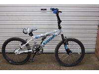 "Raleigh Xtreme X20 20"" BMX in snow camo colours"