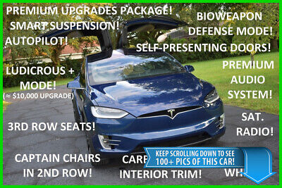 2016 Tesla Model X P90D - LUDICROUS SPEED UPGRADE - LOADED - BEST DEAL ON EBAY P90D Performance SUV P100D 90D 100D S 3 BMW i8 Audi e-tron Q8 Maserati Levante