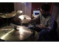Professional Drummer available for individual home-based drum lessons