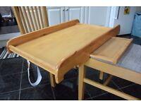 Cot top table (Oak)