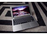 Macbook Air 11, Early 2014, i5 1.4Ghz, 8GB RAM, 120GB SSD.