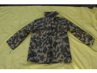 Romanian Army M93 Fleck Camo Parka .. Very Rare!! (Size 54 / XL) with Wool Liner