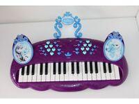Great conditon Disney Frozen Keyboard Musical Girls Toy