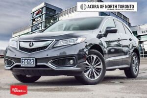 2016 Acura RDX Elite at Rare Colour Comb/ Remote Start/ Parking