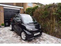 2009 SMART CAR BRABUS XCLUSIV FORTWO 451 1.0 TURBO BLACK 65K