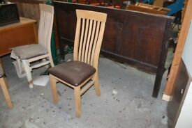 brand new dining chairs PRICE IS FOR ONE CHAIR