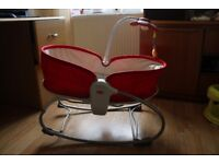 Tiny Love 3-in-1 Rocker Napper – Red. Very good condition.