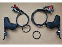 SRAM FORCE 2x11 HYDRAULIC DISC BRAKE SET - PAIR - BRAND NEW (more reliable than shimano ultegra) for sale  Richmond, London