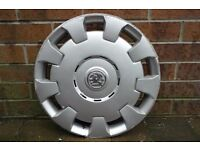 Vauxhall wheel trim -single