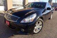 2011 Infiniti G37X Leather. Roof. Rear cam. Clean
