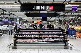 SUSHI CHEF - ALL LEVELS. NEW EPSOM BRANCH !