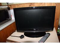 """Tevion 19"""" LCD Freeview TV with built in DVD player"""