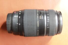 Faulty Tamron 70-300 mm zoom lens. Canon mount.