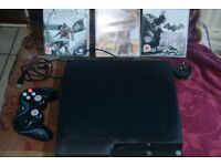 Sony Playstation 3 complete with Games and Play TV addon