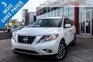2015 Nissan Pathfinder SL V6 4x4, CUIR, 7 PASSAGERS *DÉMONSTRATE