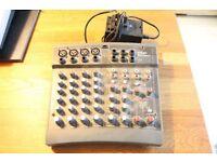 Soundcraft Spirit Powerpad Note Pad Mixer mixing desk