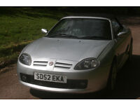 SORRY SOLD SOLD SOLD 52, MGTF, NEW MOT, EX COND, LEATHER INTERIOR, LOW MILEAGE, FREE WARRANTY