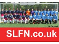 Find new friends, play football, lose weight, get fit. Teams looking for players ah2g