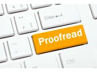 Make Sure Your Written English is Perfect: Use a Professional Proofreader, Editor and Copywriter