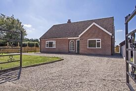 Spacious 3 bedroomed dorma bungalow situated in the village of Bielby, East Yorkshire