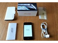 APPLE iPHONE4 Model- A1332 BLACK/WHITE -32 GB 3.5 Inch Screen, Unlocked To Any Network, with WiFi,