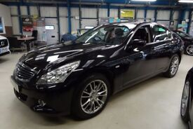 Infiniti G37 [NAV / PAN ROOF / LEATHER] (deep black metallic) 2011