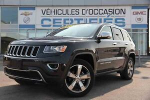 2016 Jeep Grand Cherokee LIMITED NAVIGATION/CUIR/TOIT OUVRANT/JA