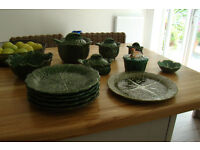 Green Cabbage Design Tableware