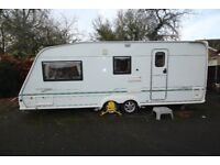 Bessacarr 550 GL 3 Berth Twin Axle Caravan.
