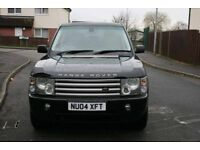 2004 RANGE ROVER LAND ROVER VOUGE HSE TD6 AUTO BLACK, LOW MILES, STUNNING CAR