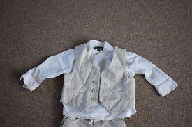 1 year old - John Rocha waist coat, shirt and trousers