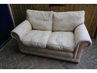 Free 2 seater cream sofa