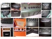 Guitar Amp Blackstar fender Orange Yamaha Marshall Roland Cube