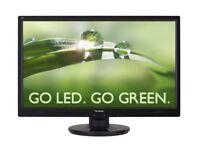 ViewSonic VA2445-LED 24 inch Full HD LED Monitor (1920 x 1080, 10M:1 DCR, VGA/D