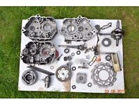 Pit Bike Parts Job Lot - 110 and 125cc - Engine Casings, Gear Selector, Clutch, Crank Shaft