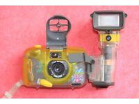Sea & Sea Underwater Film Camera and Flash Unit
