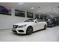 MERCEDES-BENZ E CLASS 2.0 E200 AMG Sport Cabriolet 7G-Tronic Plus 2dr Auto (white) 2014