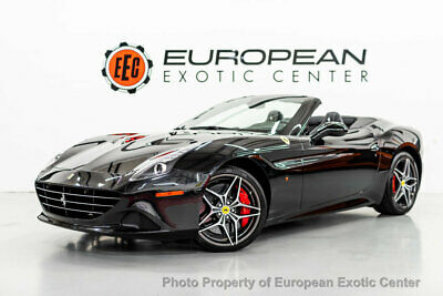 2017 Ferrari California T Convertible 2017 Ferrari California T, Nero Daytona Metallic with 15450 Miles available now!