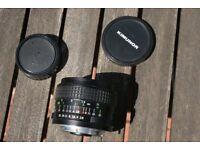 Kimunor Auto f2.8 28mm lens