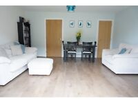 Cream 3 Seater Sofa, Love Seat and Foot Stall