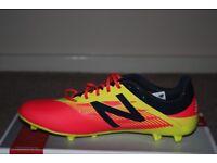 Mens New Balance Furon Football Boots (Cherry) Size 9 UK